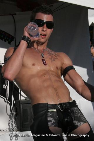 Male model photo shoot of Edward Lannin Photos in Phoenix 2009 Pride Festival
