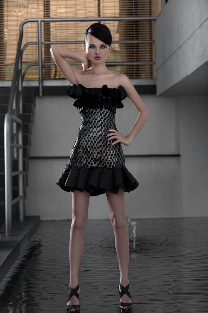 Miami Apr 22, 2009 BrianWalshImages Designer-Eduardo De las Casas ,Model-Viktoria Yun , Hair- Debbie M, Make up- Stephanie C