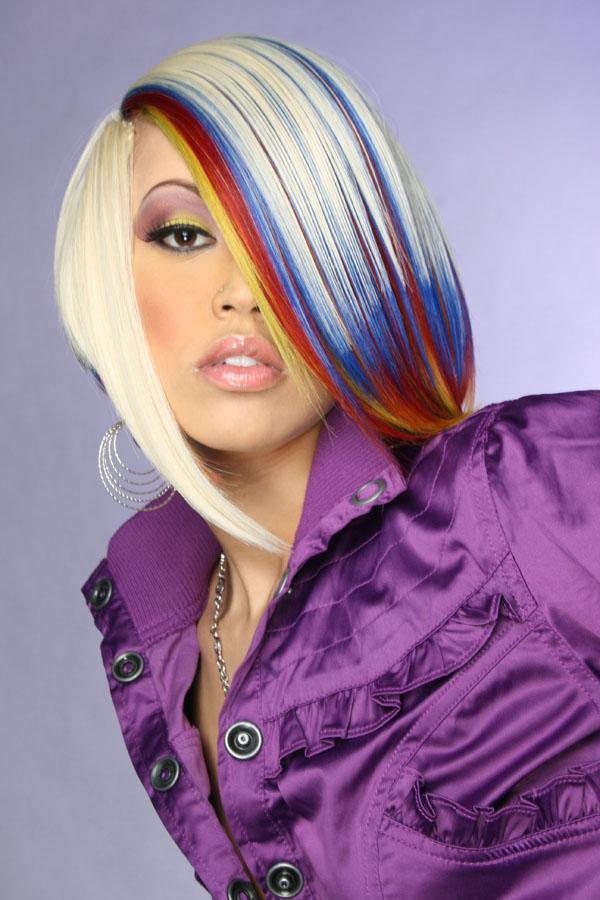 SACRAMENTO-MODEL TONISHA Apr 22, 2009 Black Passion Hair Book Photoshoot-HAIR WARS