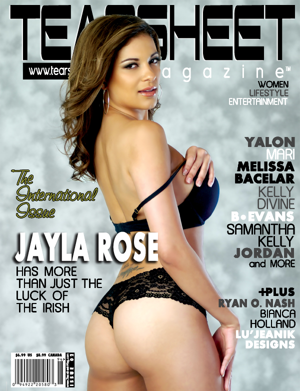 International Apr 23, 2009 Tearsheet Magazine Jayla Rose On Cover of Tearsheet Magazine - On Stands May 23rd, 2009