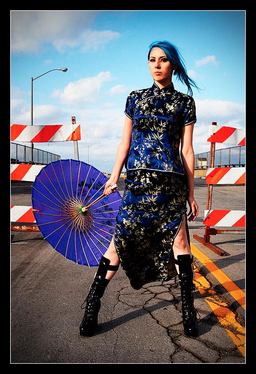 Female model photo shoot of blu jay by Ron Douglas in Buffalo, NY