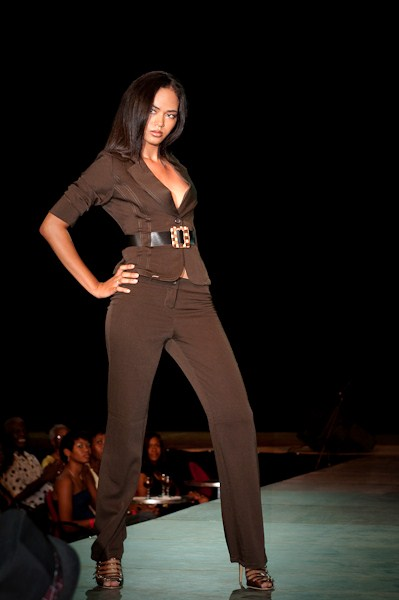 Paramaribo - Suriname Apr 23, 2009 Final show Model of the year 2009
