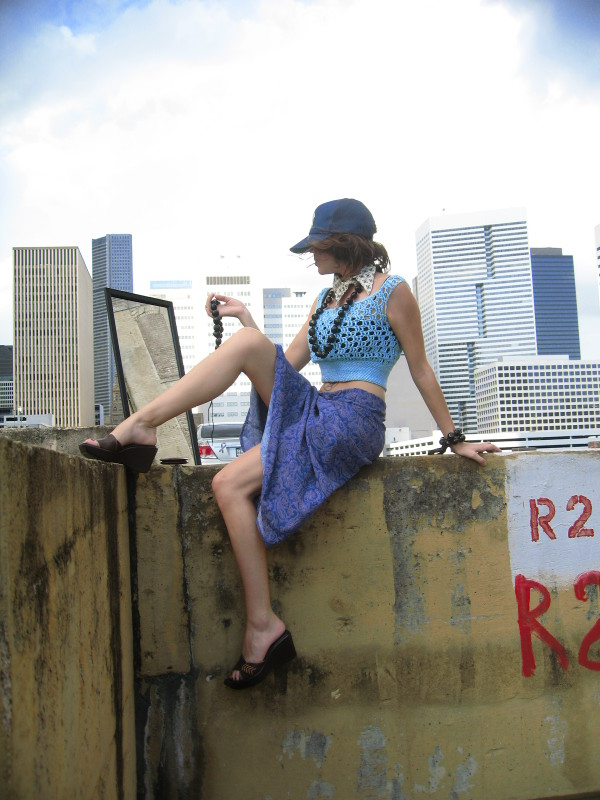 Female model photo shoot of Shina Rae in DT H-Town