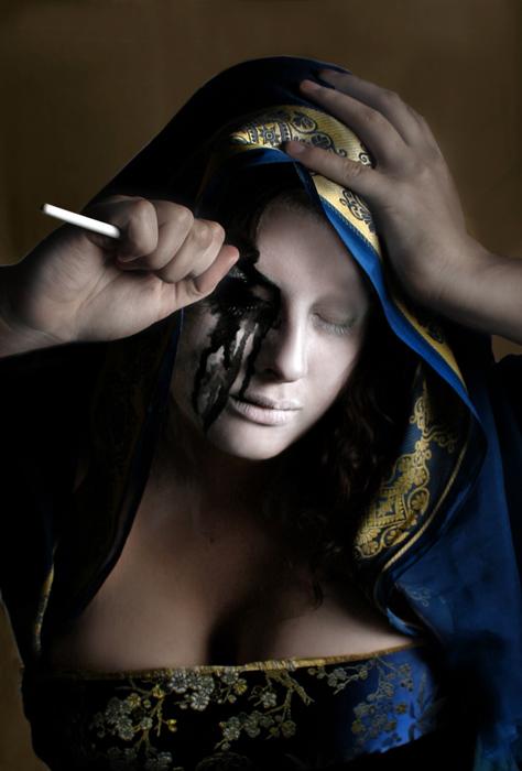 Female model photo shoot of Visual Echoes in Buffalo Studio