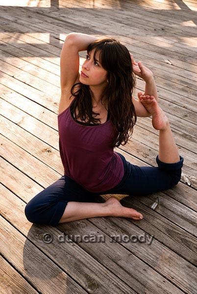 Greensboro, NC Apr 25, 2009 Duncan moody Yoga - Pidgeon