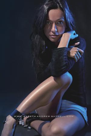 Female model photo shoot of Z u b i by Gareth Gatrell