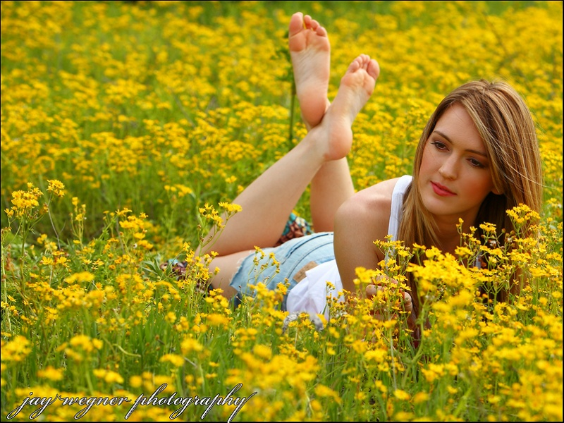 somewhere in Texas Apr 26, 2009 jay wegner photography Kayla in fields of gold