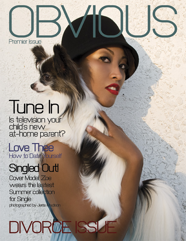 Los Angeles Apr 26, 2009 Jerris Madison for Obvious Inc Obvious Magazine - Premier Issue