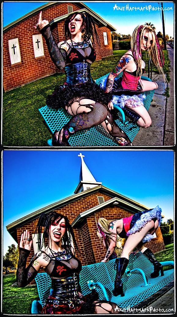church Apr 29, 2009 andy hartmark Suzy Homewrecker & Maegan Machine