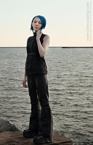 Female model photo shoot of blu jay by Luke Copping in Buffalo, NY