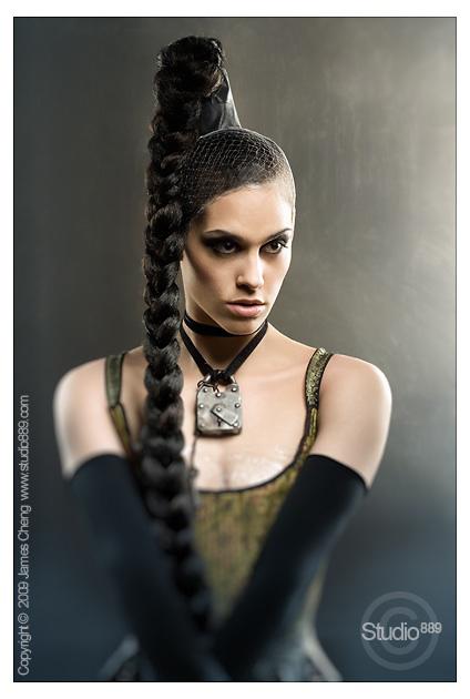 Female model photo shoot of Frances Powell by Studio 889