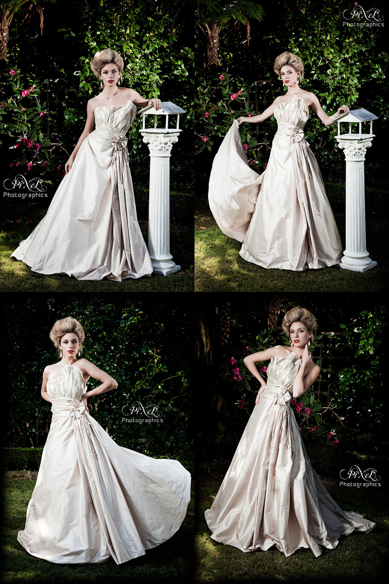 sydney Apr 29, 2009 Pixel Photographics Garden wedding - Couture silk gown by Culture Shock