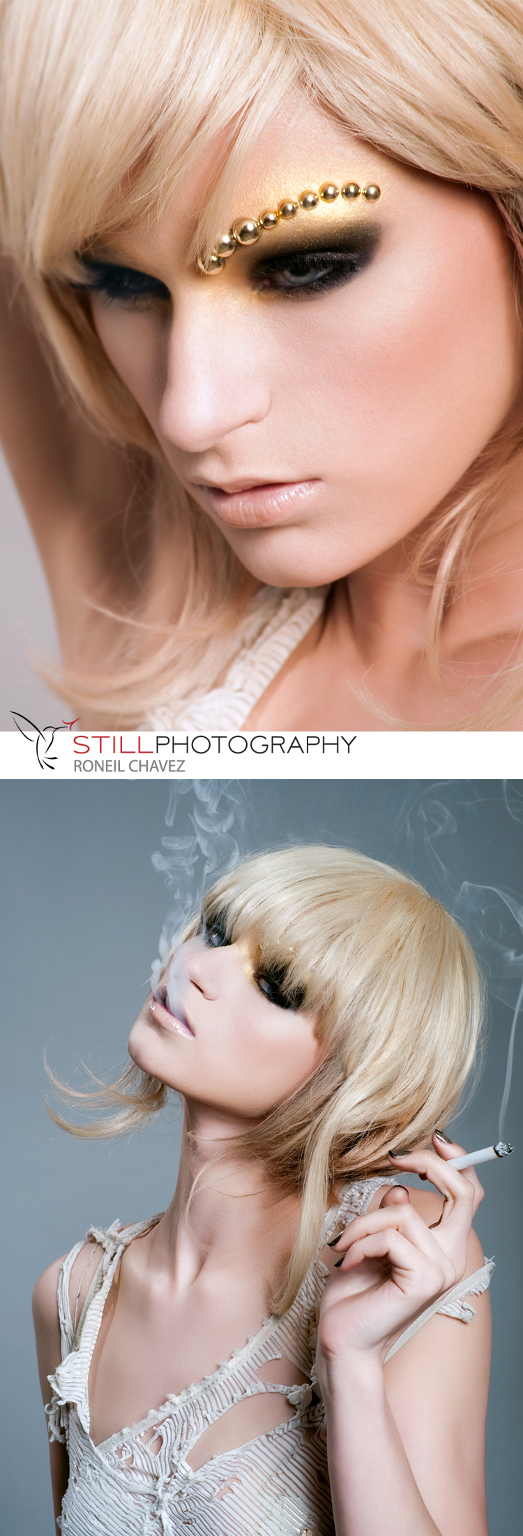 Female model photo shoot of just Muse by Roneil Chavez, makeup by Jeanne San Diego