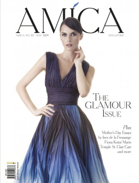 Styling by Adlina,  Make up Larry Yeo, Hair  Tim Teo model Margot Apr 30, 2009 Sjodahl AMICA COVER MAY 2009