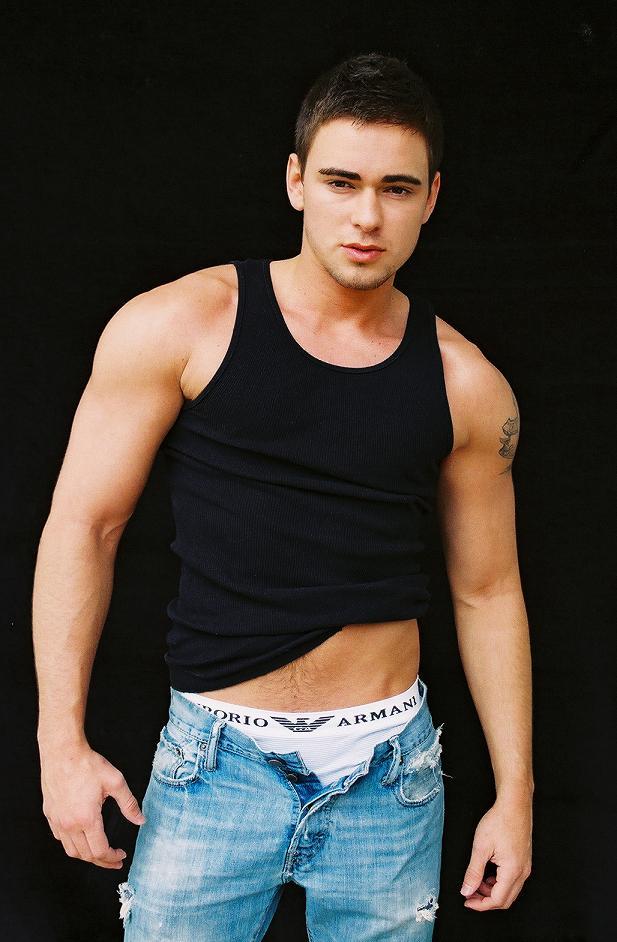 Male model photo shoot of David Obe
