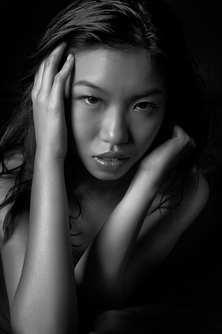 Female model photo shoot of Sizzle Hot Baby