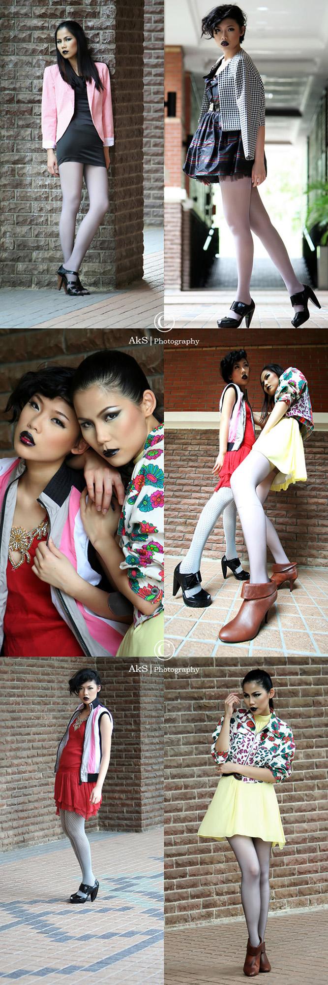 Putajaya - Malaysia May 01, 2009 Models: Shir & San, MUA: Rany, Fashion Stylist: Alicia