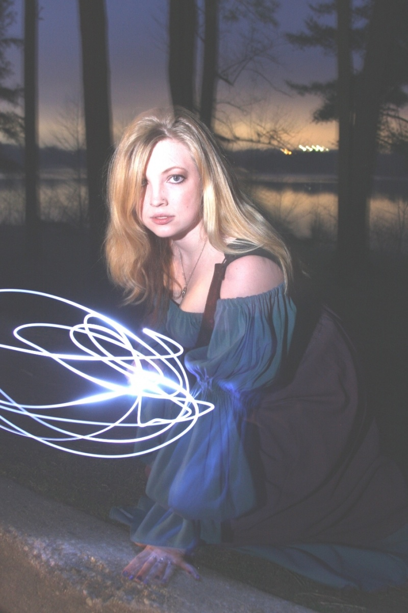 Female model photo shoot of Leighanne - The Feline by Ben Hoffy in Loch Raven Reservior