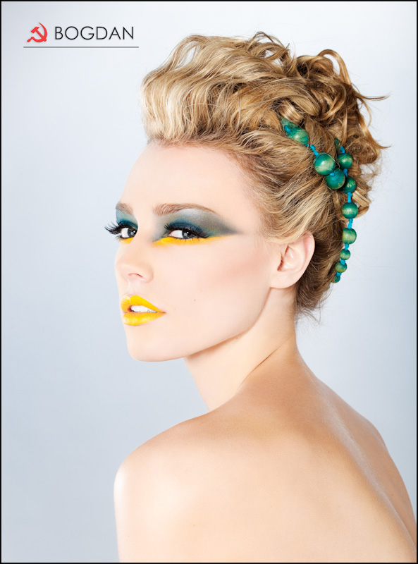studio May 04, 2009 2009 Photo by Bogdan / Hair by Tasha Valenti / Makeup by Katelyn Simkins / Model: Megan Cronin