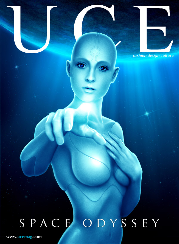 May 04, 2009 UCE Magazine Space Odyssey Issue Cover illustrated by MichaelO