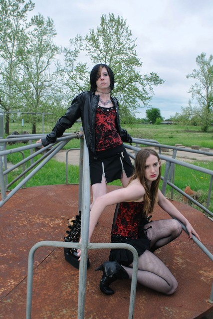 Female model photo shoot of Riley Sherwin and K I C K H A M by Kevin Camp Photography