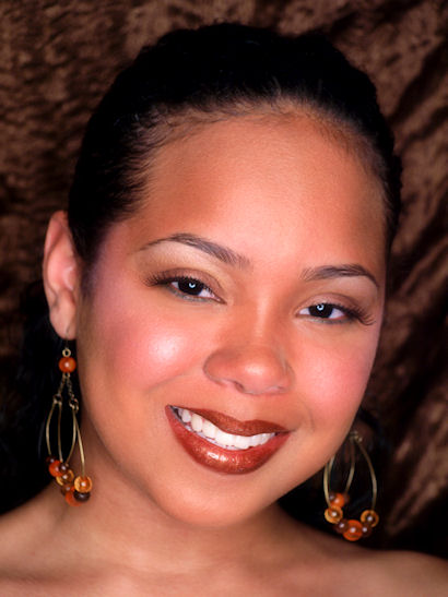 Female model photo shoot of Ariesha M by MIW Images in Houston, TX, makeup by Vanessa Velour