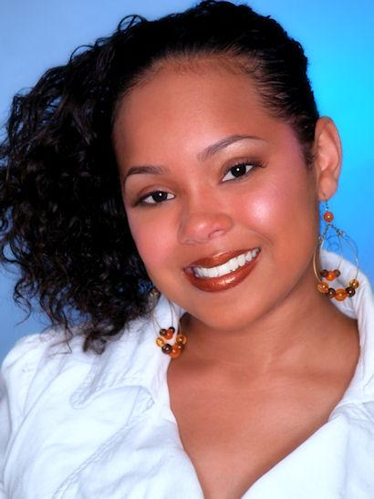 Female model photo shoot of Ariesha M by MIW Images, makeup by Vanessa Velour