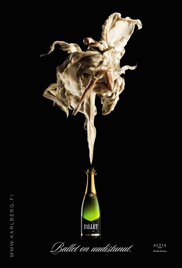 May 11, 2009 Henrik Karlberg Ballet ad, post production by Fake Graphics
