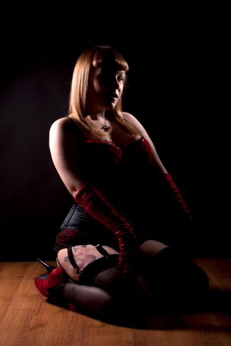 Female model photo shoot of Poppy Scarlet by foCuseD - Photography in Staffordshire