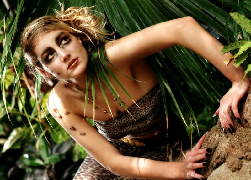 Female model photo shoot of Amanda Sharkey  and Jovita Urbonaite by swwak in Botanics Gardens
