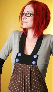 ca May 13, 2009 2009 labelofhope gathered kanga pocket (faux jumper)