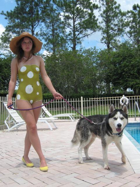 Saddlebrook Resort Pool May 13, 2009 50s Bathing Suit