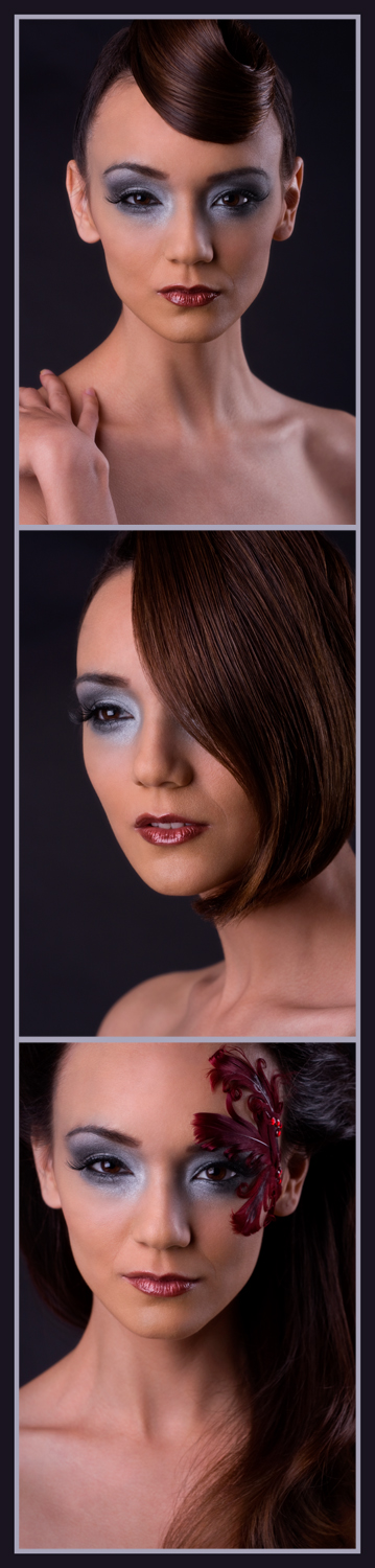 Female model photo shoot of J Boettner Studios and Michelle King, makeup by Nicole Fae