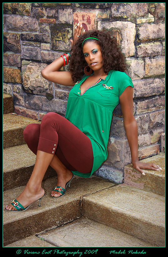 Female model photo shoot of Nakeda Eye Candy by Visions East in Arlington Texas