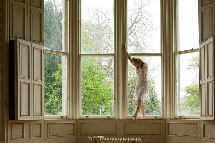 Scotland May 15, 2009 © Howard M. Kennedy Window Dancer
