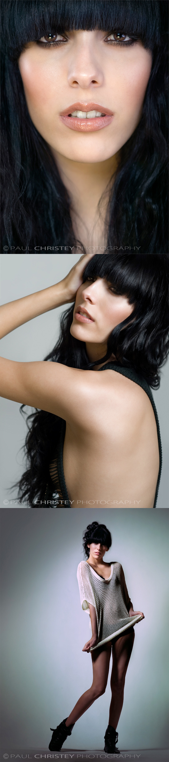 Female model photo shoot of ChelseaRose by Paul Christey, hair styled by Nadine Johns, makeup by June Escobar