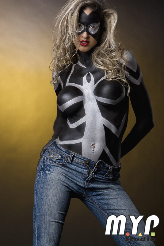 May 19, 2009 Yann Poirier - MYP Studio Krystelle as Spider-Women