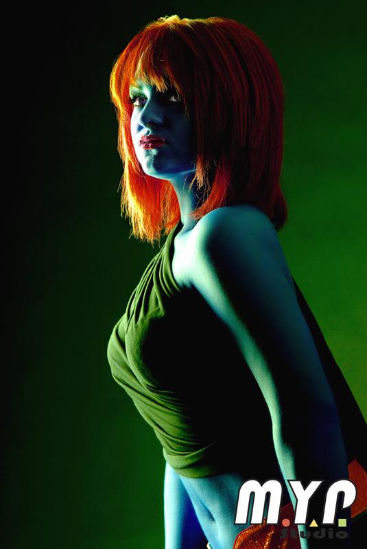 May 19, 2009 Yann Poirier - MYP Studio Daphné as Mystique