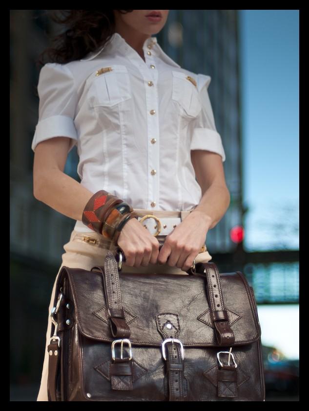 St. Paul, MN May 19, 2009 Jessica Kempen Photography Jene modeling handbags by Grand Sahara
