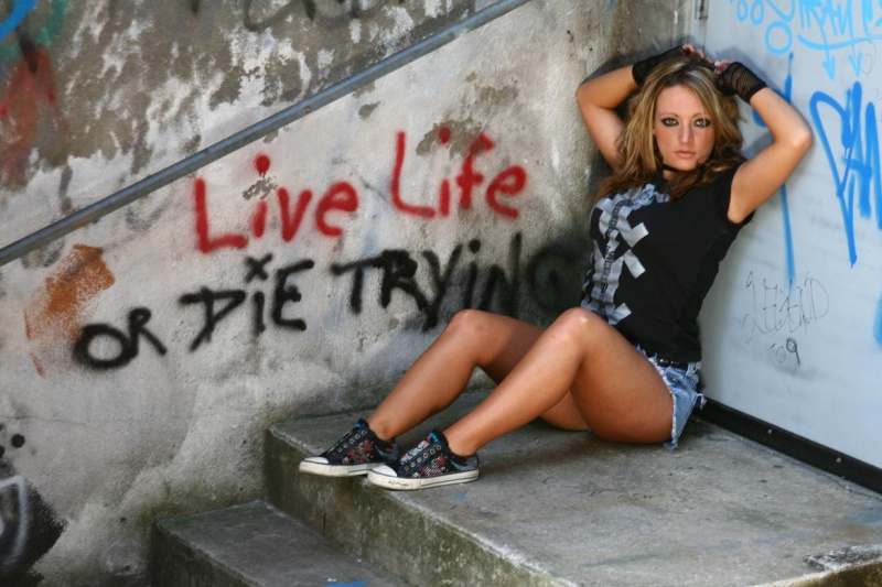 Ybor City  Tampa Florida May 20, 2009 Jasper Hill Photography Live Life or Die Trying