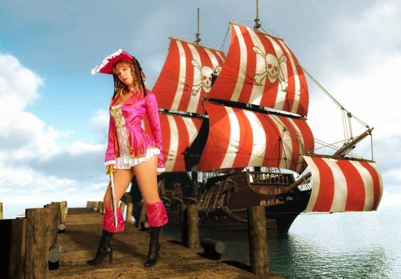 May 20, 2009 Pirate Chick