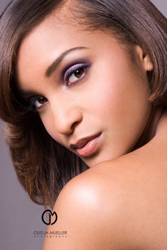 May 20, 2009 Olesja Mueller Photography shot for the portfolio of the talented makeup artist India Cherese