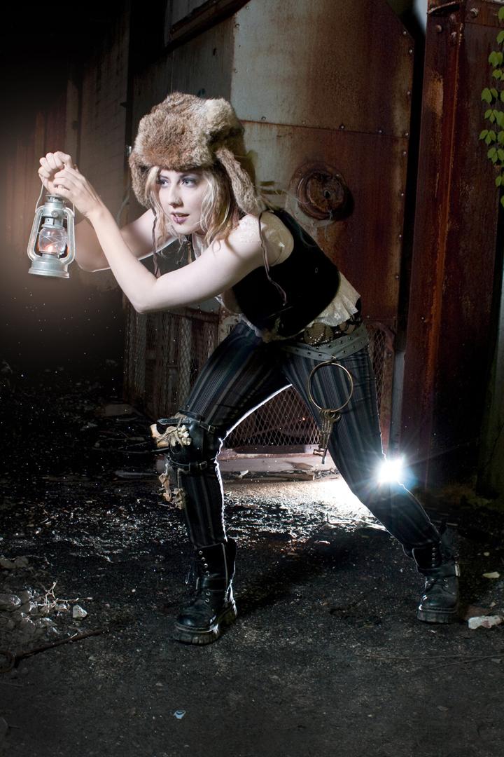Female model photo shoot of SeaJae by Girl w0nder in Detroit, Mi, makeup by Haunted Wunderland