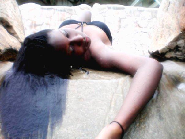 Female model photo shoot of Ley Jae in Ocho Rios, Jamaica