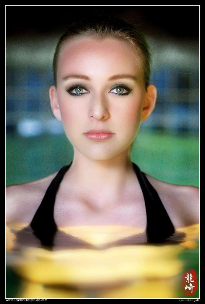 Female model photo shoot of AriannaK by Ryuuzaki in Elk Grove, CA, makeup by Jessica Foronda