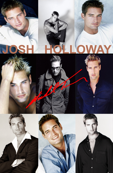 May 24, 2009 Portfolio i created for Josh Holloway,which earned him tons of money as a Model before Staring as SAWYER on hit TV Show  LOST....He Continues to Hire me because i helped START HIS CAREER and he values my Talent as a Photographer