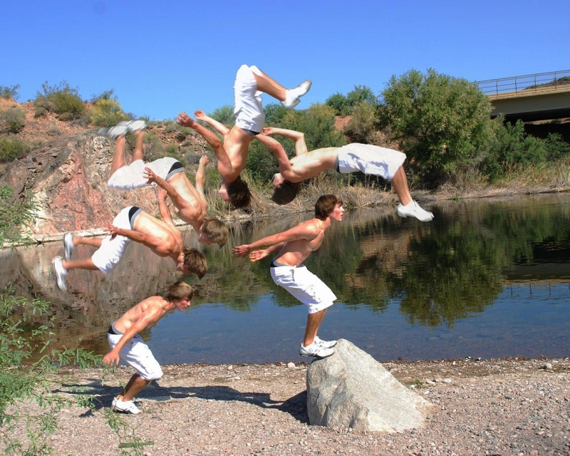 Salt River (AZ) May 25, 2009 Photographic Dreams Backflip