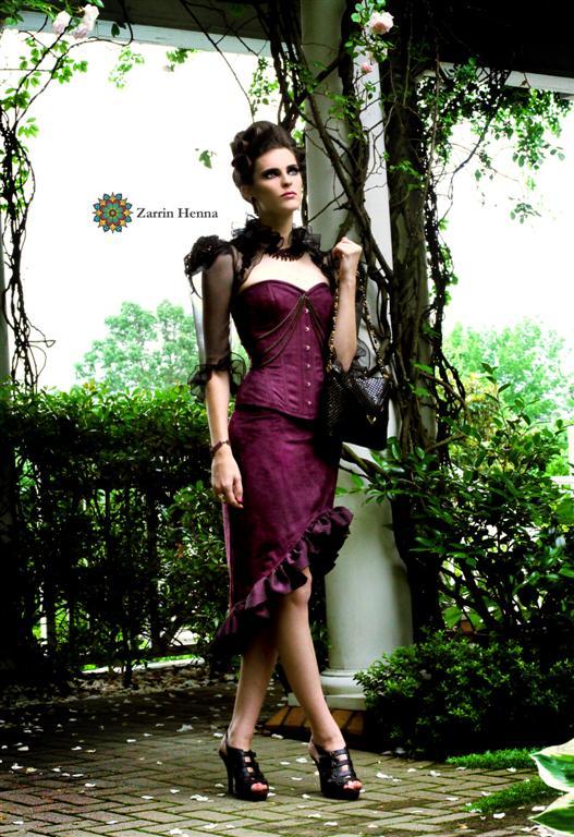 May 26, 2009 Zarrin Henna Victorian Fashion Shoot