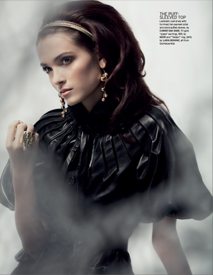 May 26, 2009 Photo Ingrid Sjodahl, Styling Cat Ong Hair and Make up Andrea Clair ELLE
