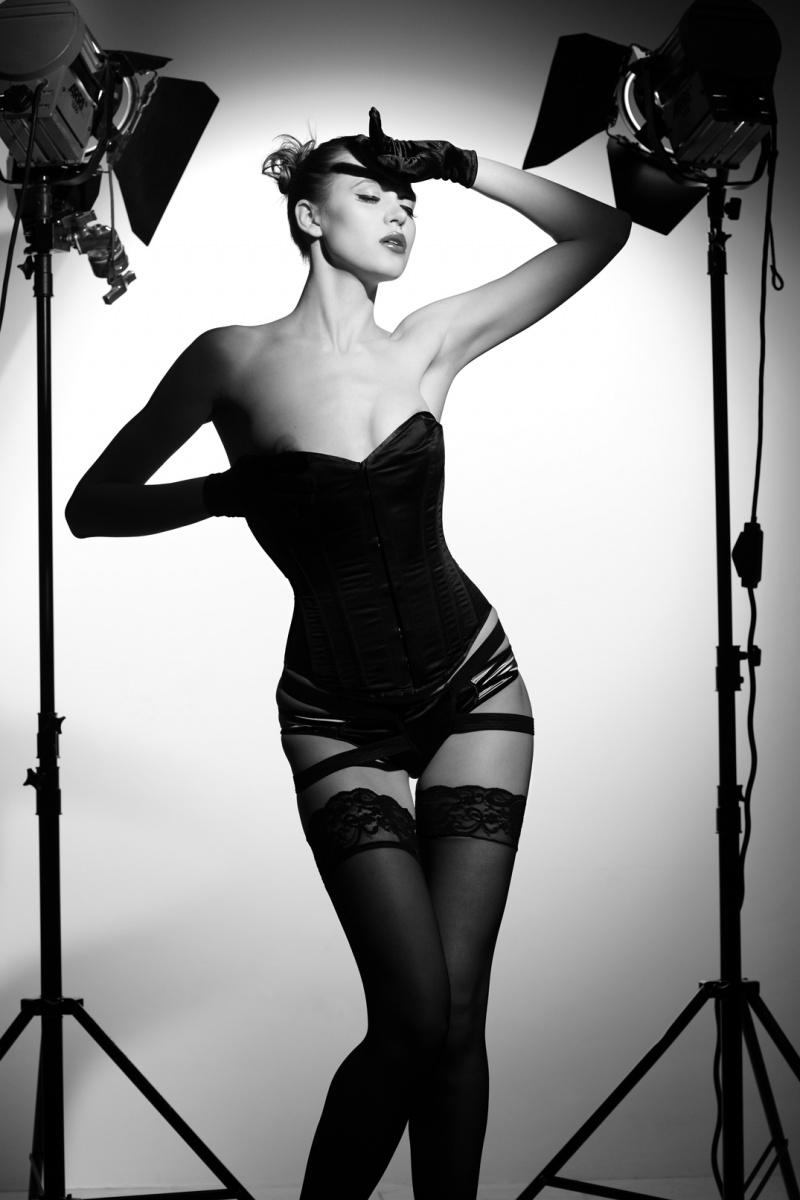Female model photo shoot of ALEVTINA  STYLIST in London, wardrobe styled by ALEVTINA  STYLIST